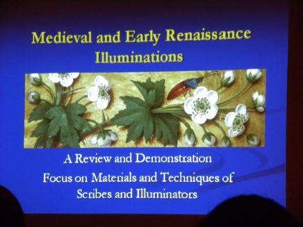 Carol Jean Rogalski at Nature Artists' Guild Presentation 9