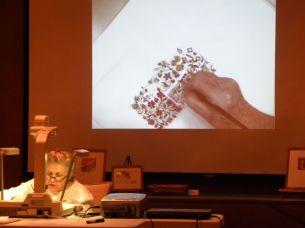 Carol Jean Rogalski at Nature Artists' Guild Presentation 3