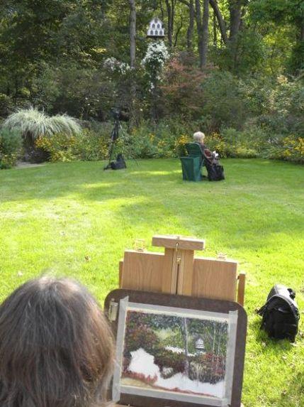 Nature Artists' Guild at Beard Garden 2012 B