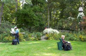 Nature Artists' Guild at Beard Garden 2012