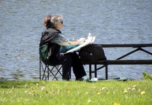 Nature Artists' Guild at Mayslake Peabody Estate 2013-4