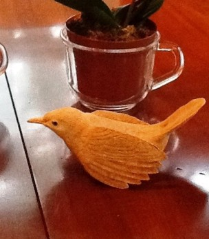 Calvin Wright Carved Bird 1