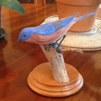 Calvin Wright Carved Bird 2