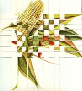 Pure Corn Grid, © Lynne Railsback