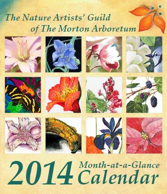 2014 Nature Artists' Guild Calendar
