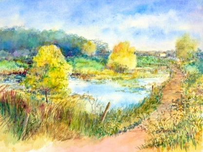 Middlefork Savanna - Summer, ©Beverly Behrens, Used With Permission