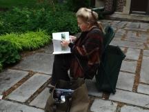 Nature Artists' Guild at Mayslake Peabody Estate 2014 8