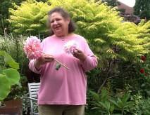 Karen Rugg at Catherine Donovan's Garden