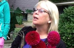 Suzanne Wegener at Catherine Donovan's Garden