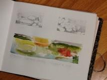 Carol Jean Rogalski's artwork at Catherine Donovan's Garden