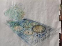 Karen Rugg's artwork at Catherine Donovan's Garden