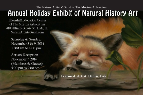 Nature Artists' Guild Postcard Holiday Exhibit 2014