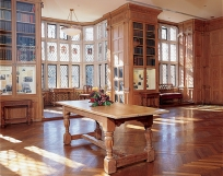 The Morton Arboretum Founder's Room. Photo credit www.mortonarb.org