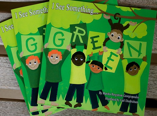 """I See Something Green"", Marsha Bergstrom Georgiopoulos and Gail Diedrichsen"