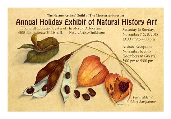 2015 Holiday Exhibit Postcard