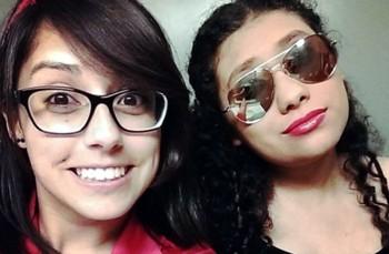 Maria Requena and Marlyn Ayala