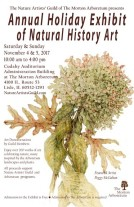 2017 Nature Artists' Guild Holiday Exhibit Poster