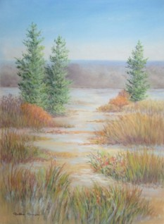 Remembering November, Pastel, copyright Bobbie Brown