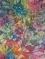 Tangled, Mixed Media, copyright Bobbie Brown.