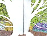 Tree, negative Space, copyright 2019, Evelyn Grala
