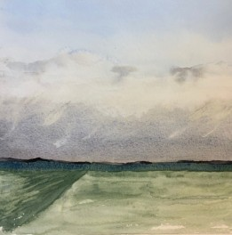 2020 Nature Artists' Guild, cloud study, copyright Vicki Liszewski