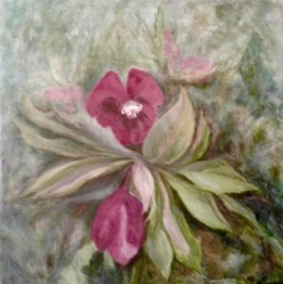 2020 Nature Artists' Guild, Lenten Lily, copyright Marlene Vitek