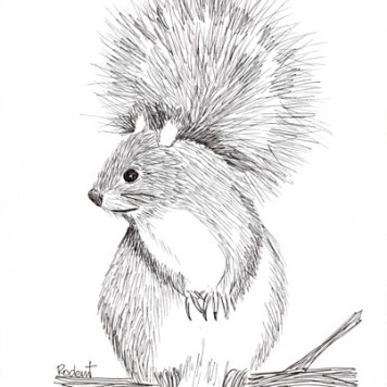Rodent, copyright Alice Wych