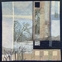 Driven to Abstraction, art quilt, copyright Patty Koenigsaecker